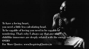Osho Great Saying on Love with Wallpaper Great Sayings by Osho on Love ...