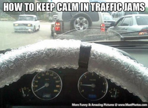 How To Keep Calm In Traffic Jams – An Amazing Thing For Time Pass.