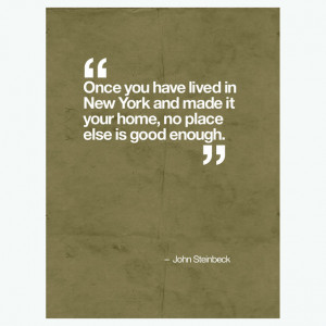 John Steinbeck Quote Brown art, digital print, 46