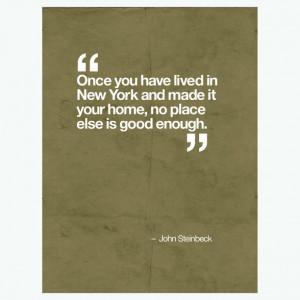 John Steinbeck Quote Brown art, digital print, 46