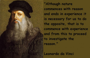Leonardo da Vinci Inspirational Quotes for the Home Based Business ...