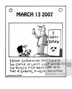 macarthur cartoons, macarthur cartoon, funny, macarthur picture ...