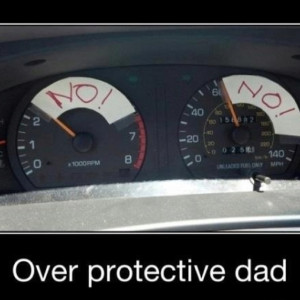 Overprotective dad