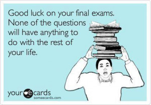 May the odds be ever in people having to take finals this week favor