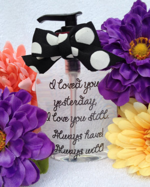 Hand Soap Dispenser ~ Inspirational Quotes ~ Creative Gifts