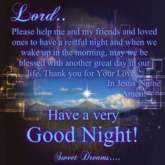 Good Night God Bless