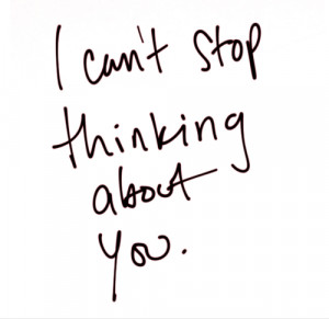 Can't Stop Thinking About You
