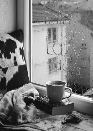 Quote - Tumblr: Lazy Rainy, Cozy Rainy Day, Rainy Day Lazy, Typography ...
