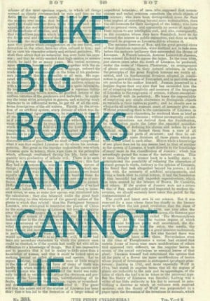 Like Big Books Quote Illustration Beautifully by PigAndGin, $10.00