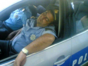 Guards sleeping at work - Funny pictures