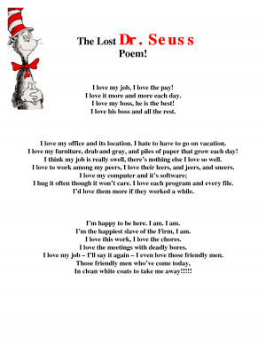 Search Results for: Dr Seuss Poems