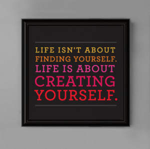 ... Wall Art for Teen Girl's Bedroom 8x8 Life Is About Motivational Quote