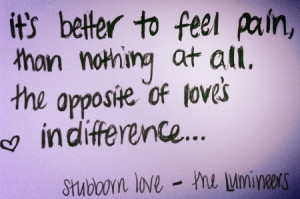 Quotes About Being Stubborn