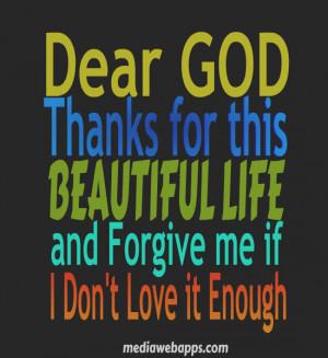 Dear God Help Me Quotes