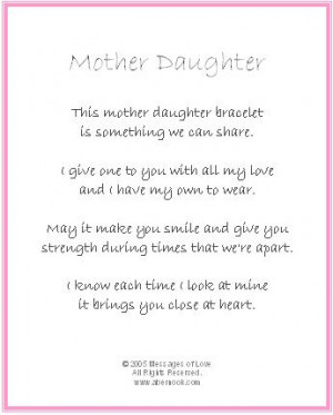 Mother and Daughter Bond Quotes