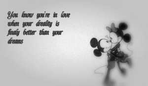 Mickey And Minnie Love