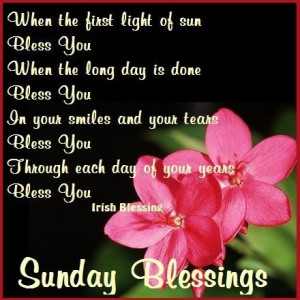 Sunday Blessings