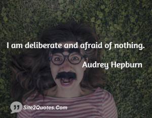 Inspirational Quotes - Audrey Hepburn