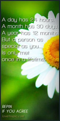 Special person love quotes love quote special person once in a ...