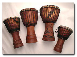 Drum African Scenes This Beautiful Djembe Drum Featuring African