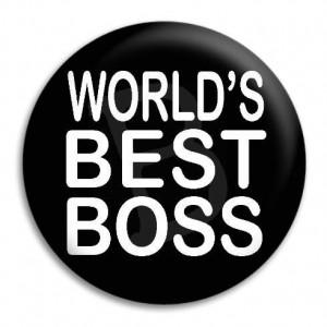 Home World's Best Boss Button Badge