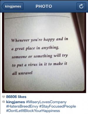 LeBron James Addresses Cheating Rumors? (Instagram Post)