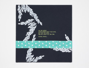 ... this weekend and made up some more quotes on fabric to sell as well