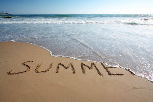 Summer = Sea, Sand... Rain? Time to Get Busy Internally!