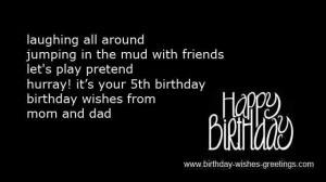 year old birthday wishes boy