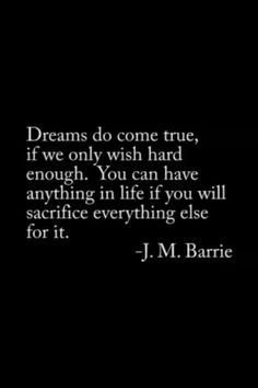 dream quote j m barrie more dream quotes barry quotes relatable quotes ...