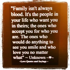 ... broken family! I surround myself with the most amazing people = ) More