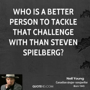 Who is a better person to tackle that challenge with than Steven ...