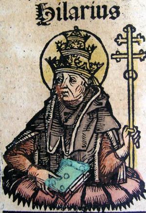 Hilarius Consecrated as Pope
