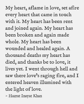 Hazrat Inayat Khan, beautiful