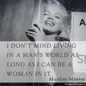 Quotes: Marilyn Monroe on men