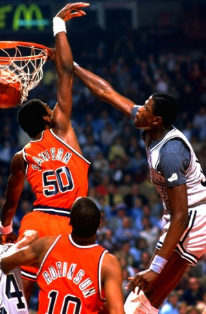 Patrick #Ewing went into BEAST mode during #MarchMadness. | Georgetown ...
