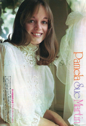 Details about PAMELA SUE MARTIN MIA FARROW 1974 JPN PICTURE CLIPPING