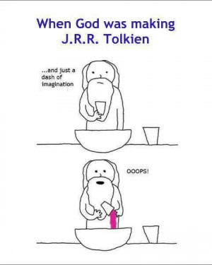 LOTR humor. J. R. R. Tolkien