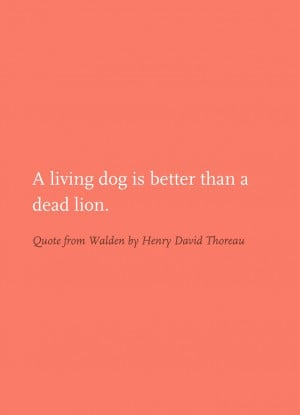 Quote from Walden by Henry David Thoreau