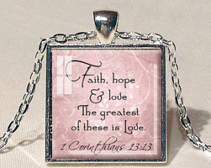 ... quote faith jewelry bible quote pendant christian gift for christian