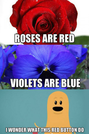 mean roses are red violets are blue jokes