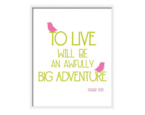 Pink And Green Nursery Wall Art With Inspirational Baby Girl Quotes