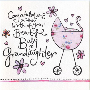 Congratulations Grandma On New Baby Girl