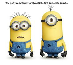 Gotta love that back-to-school blank stare! More