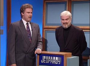 Saturday Night Live: Will Ferrell as Alex Trebek & Darrell Hammond as ...