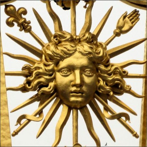 Louis Xiv Sun King Emblem of the sun king louis