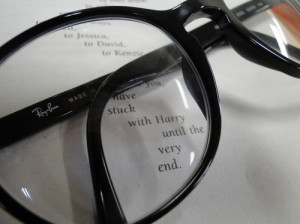 Glasses Quote Rayban Text