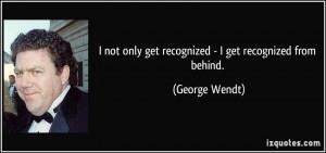 George Wendt Died