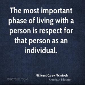 Millicent Carey McIntosh Quotes