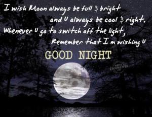 Goog Night Quotes picture